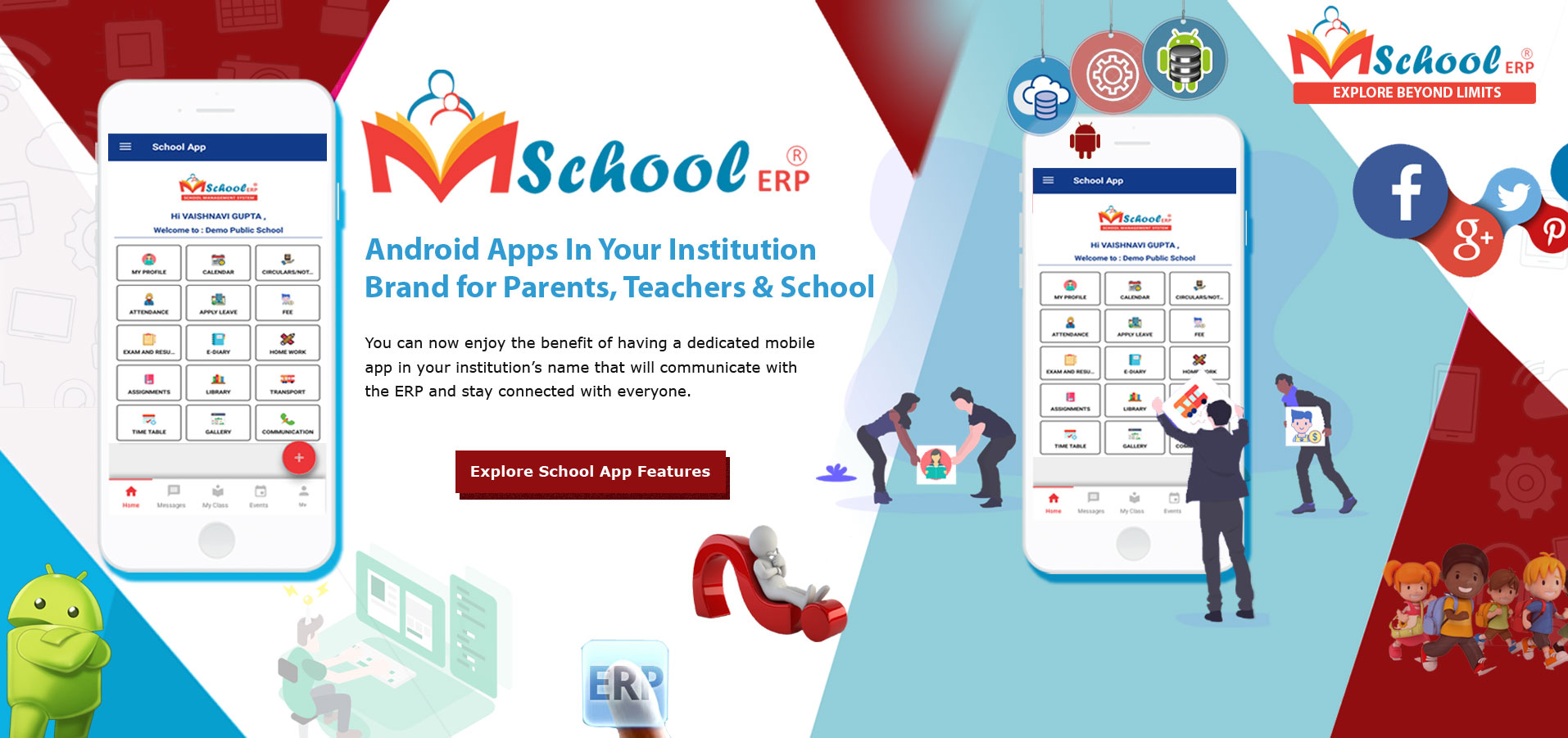 School Management Software live demo in India