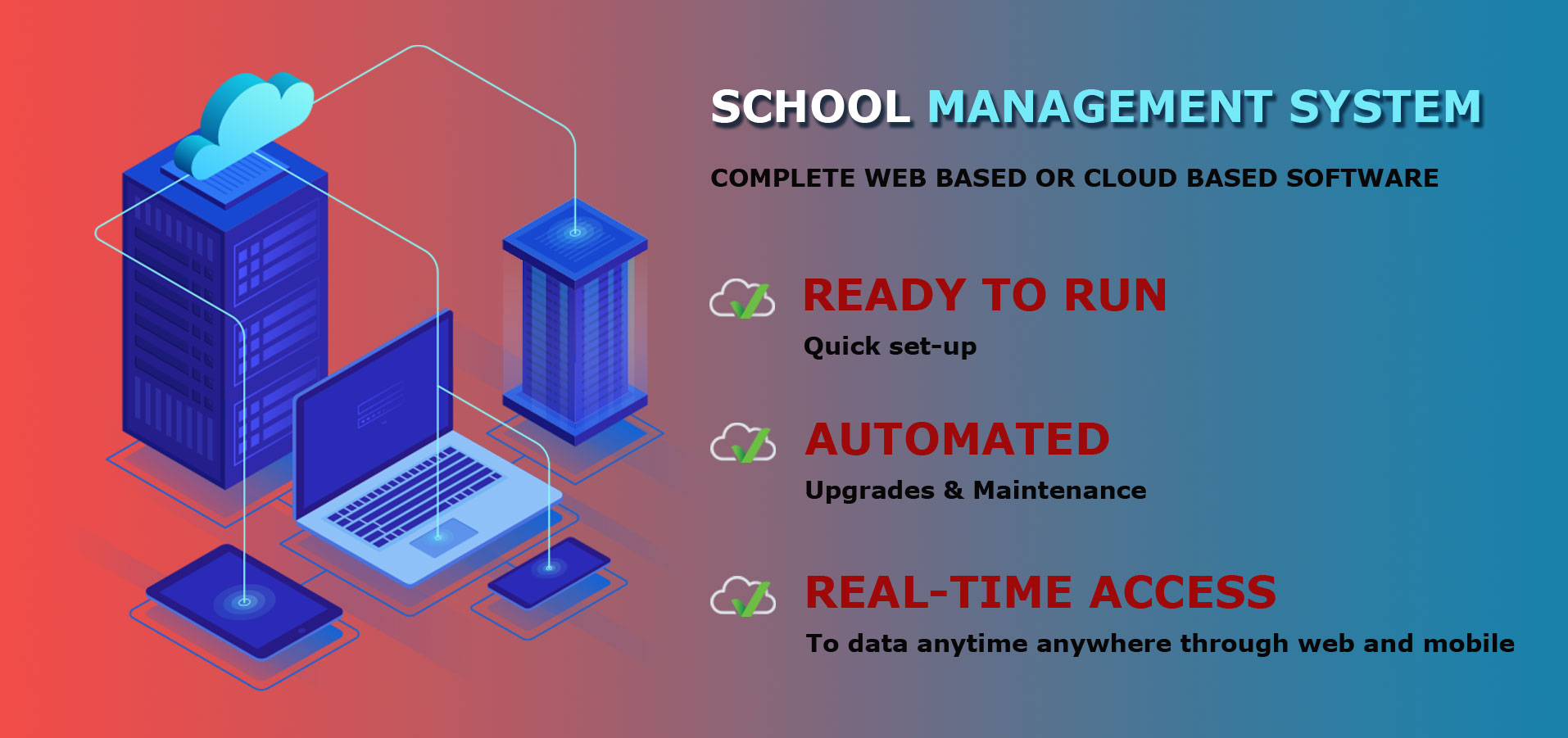 School Management ERP Software live demo in Delhi